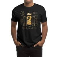 Le Beer (Elixir of Life) (Black Variant) - mens-regular-tee - small view