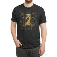Le Beer (Elixir of Life) (Black Variant) - mens-triblend-tee - small view