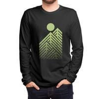 Onward & Upward (Black Variant) - mens-long-sleeve-tee - small view