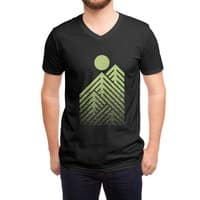 Onward & Upward (Black Variant) - vneck - small view