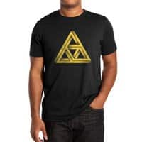 Penrose Triforce (Black Variant) - mens-extra-soft-tee - small view