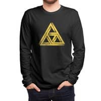Penrose Triforce (Black Variant) - mens-long-sleeve-tee - small view