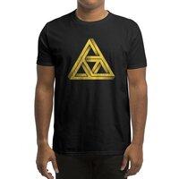 Penrose Triforce (Black Variant) - mens-regular-tee - small view