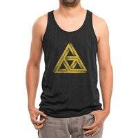 Penrose Triforce (Black Variant) - mens-triblend-tank - small view
