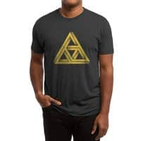 Penrose Triforce (Black Variant) - mens-triblend-tee - small view