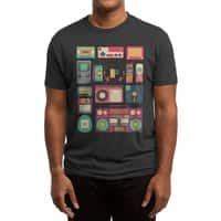 Retro Technology (Black Variant) - mens-triblend-tee - small view