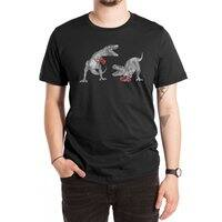 T-Rex Boxing (Black Variant) - mens-extra-soft-tee - small view