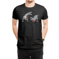 T-Rex Boxing (Black Variant) - mens-regular-tee - small view