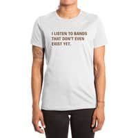 I Listen to Bands That Don't Even Exist Yet. - womens-extra-soft-tee - small view