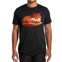 The Girl in the Red Forest (Black Variant) - mens-extra-soft-tee - small view