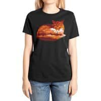 The Girl in the Red Forest (Black Variant) - womens-extra-soft-tee - small view