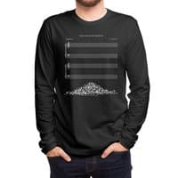 The Sound of Silence (Black Variant) - mens-long-sleeve-tee - small view