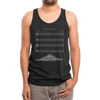 The Sound of Silence (Black Variant) - mens-triblend-tank - small view