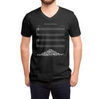 The Sound of Silence (Black Variant) - vneck - small view