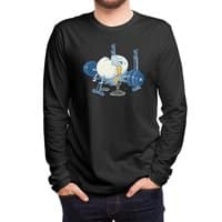 Weight Lifting Accident (Black Variant) - mens-long-sleeve-tee - small view