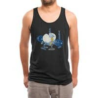 Weight Lifting Accident (Black Variant) - mens-triblend-tank - small view