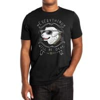 Wholesome Pupper (Black Variant) - mens-extra-soft-tee - small view