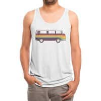 Van Rainbow - mens-triblend-tank - small view