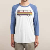 Van Rainbow - triblend-34-sleeve-raglan-tee - small view