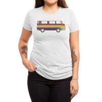 Van Rainbow - womens-triblend-tee - small view