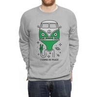I come in peace - crew-sweatshirt - small view
