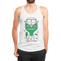 I come in peace - mens-jersey-tank - small view