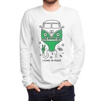 I come in peace - mens-long-sleeve-tee - small view