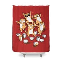 Party Party Party - shower-curtain - small view