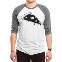 pizza space - triblend-34-sleeve-raglan-tee - small view