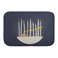 The Gold Scarf - bath-mat - small view