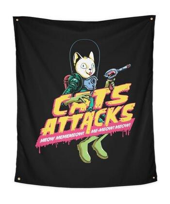 Cats Attacks