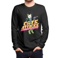Cats Attacks - mens-long-sleeve-tee - small view