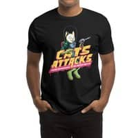 Cats Attacks - mens-regular-tee - small view