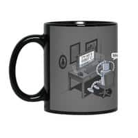 Robot Problems - black-mug - small view