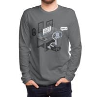 Robot Problems - mens-long-sleeve-tee - small view