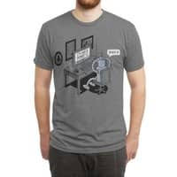 Robot Problems - mens-triblend-tee - small view