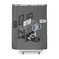 Robot Problems - shower-curtain - small view