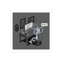 Robot Problems - square-print - small view