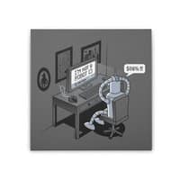 Robot Problems - square-stretched-canvas - small view