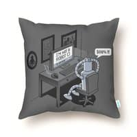 Robot Problems - throw-pillow - small view