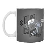 Robot Problems - white-mug - small view