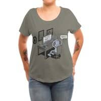 Robot Problems - womens-dolman - small view