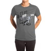 Robot Problems - womens-extra-soft-tee - small view