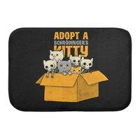 Schrodinger kitties - bath-mat - small view