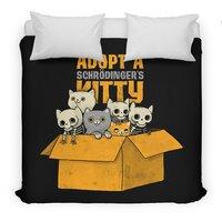 Schrodinger kitties - duvet-cover - small view
