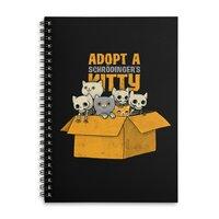Schrodinger kitties - spiral-notebook - small view
