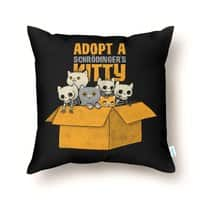Schrodinger kitties - throw-pillow - small view