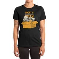 Schrodinger kitties - womens-extra-soft-tee - small view