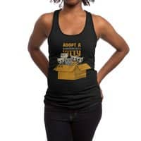 Schrodinger kitties - womens-racerback-tank - small view