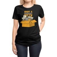 Schrodinger kitties - womens-regular-tee - small view